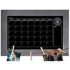 Officially Licensed MLB Monthly Chalkboard - Milwaukee Brewers