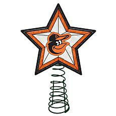 Officially Licensed MLB Mosaic Tree Topper - Orioles