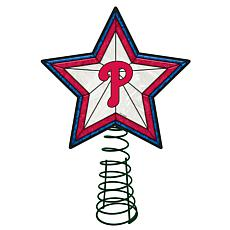 Officially Licensed MLB Mosaic Tree Topper - Phillies