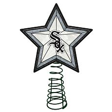 Officially Licensed MLB Mosaic Tree Topper - White Sox