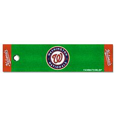 Officially Licensed MLB Putting Green Mat  - Washington Nationals