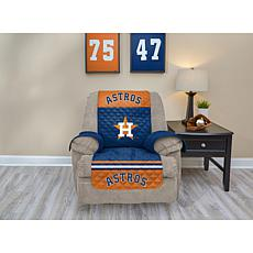 Officially Licensed MLB  Recliner Furniture Protector - Astros