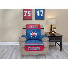 Officially Licensed MLB  Recliner Furniture Protector - Cubs