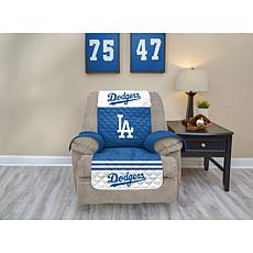 Officially Licensed MLB  Recliner Furniture Protector - Dodgers