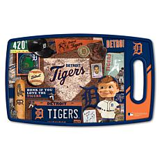 Officially Licensed MLB Retro Series Cutting Board - Detroit Tigers