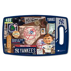 Officially Licensed MLB Retro Series Cutting Board - New York Yankees