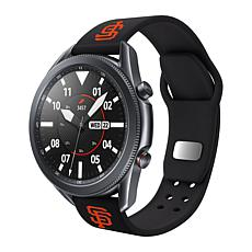 Officially Licensed MLB Silicone Sports Band for Samsung Watch-Giants