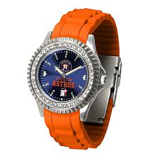 Officially Licensed MLB Sparkle Series Women's Watch - Houston Astros