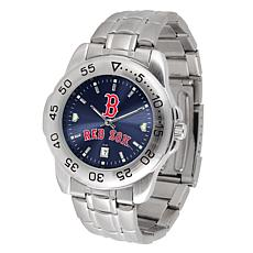 Officially Licensed MLB Sport Steel Series Watch - Boston Red Sox