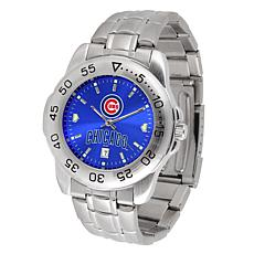Officially Licensed MLB Sport Steel Series Watch - Chicago Cubs