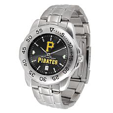 Officially Licensed MLB Sport Steel Series Watch - Pittsburgh Pirates
