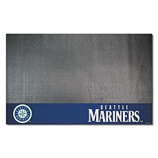 Officially Licensed MLB Vinyl Grill Mat  - Seattle Mariners