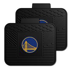 Officially Licensed NBA 2-Piece Utility Mat Set-Golden State Warriors