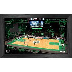 Officially Licensed NBA 2021 Signature Court - Boston Celtics