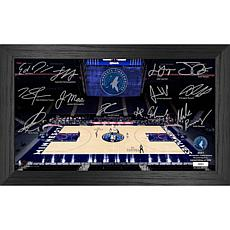 Officially Licensed NBA 2021 Signature Court - Minnesota Timberwolves