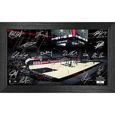 Officially Licensed NBA 2021 Signature Court - San Antonio Spurs