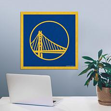 "Officially Licensed NBA 23"" Felt Wall Banner - Golden State"
