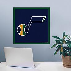 """Officially Licensed NBA 23"""" Felt Wall Banner - Utah"""