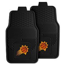 "Officially Licensed NBA 2pc Car Mat Set 17"" x 27"" - Phoenix Suns"