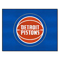 Officially Licensed NBA All-Star Door Mat - Detroit Pistons