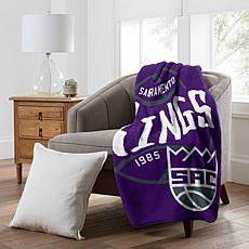 Officially Licensed NBA  Black Top Raschel - Sacramento Kings