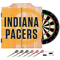 Officially Licensed NBA Dart Cabinet Set - Fade - Indiana Pacers