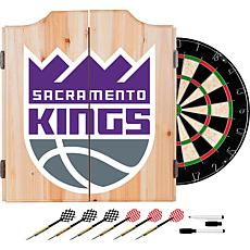 Officially Licensed NBA Dart Cabinet Set - Fade - Sacramento Kings