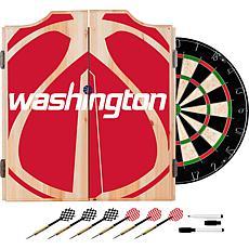 Officially Licensed NBA Dart Cabinet Set - Fade - Washington Wizards