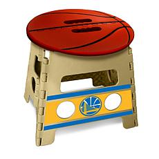 Officially Licensed NBA Folding Step Stool - Golden State Warriors