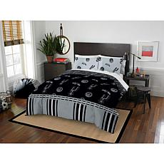 Officially Licensed NBA Full Bed In a Bag Set - San Antonio Spurs
