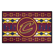 Officially Licensed NBA Holiday Sweater Starter Mat- Cavaliers