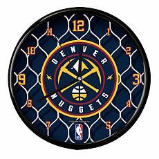 Officially Licensed NBA Net Clock - Denver Nuggets