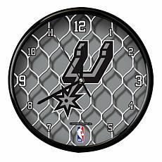 Officially Licensed NBA Net Clock - San Antonio Spurs
