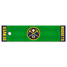 Officially Licensed NBA Putting Green Mat  - Denver Nuggets
