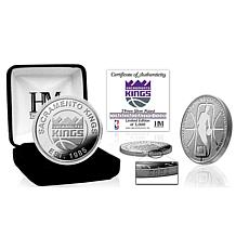 Officially Licensed NBA Silver Mint Coin - Sacramento Kings