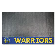 Officially Licensed NBA Vinyl Grill Mat  - Golden State Warriors