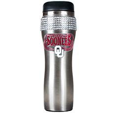 Officially Licensed NCAA 14oz. Travel Tumbler-Sooners