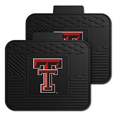Officially Licensed NCAA  2-pc Heavy Duty Vinyl Mat Set - Texas Tech