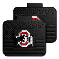 Officially Licensed NCAA  2-pc Heavy Duty Vinyl Mat Set - Ohio State