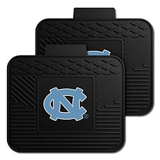 Officially Licensed NCAA  2pc Heavy Duty Vinyl Mat Set-UNC-Chapel H...