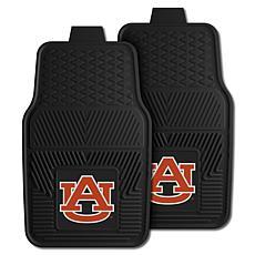 Officially Licensed NCAA 2pc Vinyl Car Mat Set - Auburn University