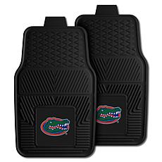 Officially Licensed NCAA 2pc Vinyl Car Mat Set- University of Florida