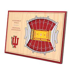 Officially-Licensed NCAA 3-D StadiumViews Display - Indiana Hoosiers