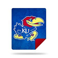 Officially Licensed NCAA 361 Sliver Knit Throw - Kansas