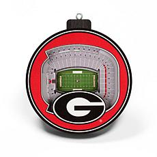 Officially Licensed NCAA 3D StadiumView Ornament 2-pack - Georgia