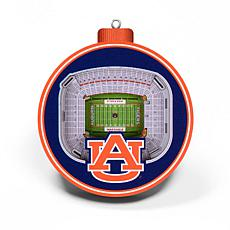 Officially Licensed NCAA 3D StadiumView Ornament 2-pack -  Auburn