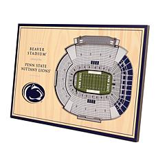 Officially Licensed NCAA 3D StadiumViews Desktop Display - Penn State