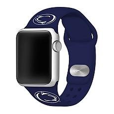 Officially Licensed NCAA 42/44mm Silicone Apple Watch Band -Penn State