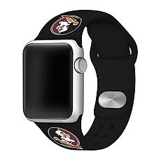 Officially Licensed NCAA 42mm/44mm Silicone Apple Watch Band - FSU