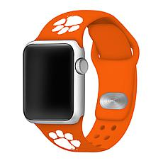 Officially Licensed NCAA Apple Watch Band - Clemson(38/40mm Orange)